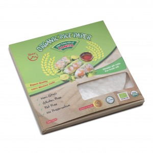 ORGANIC RICE PAPER FOR FRESH ROLL( 22cm )